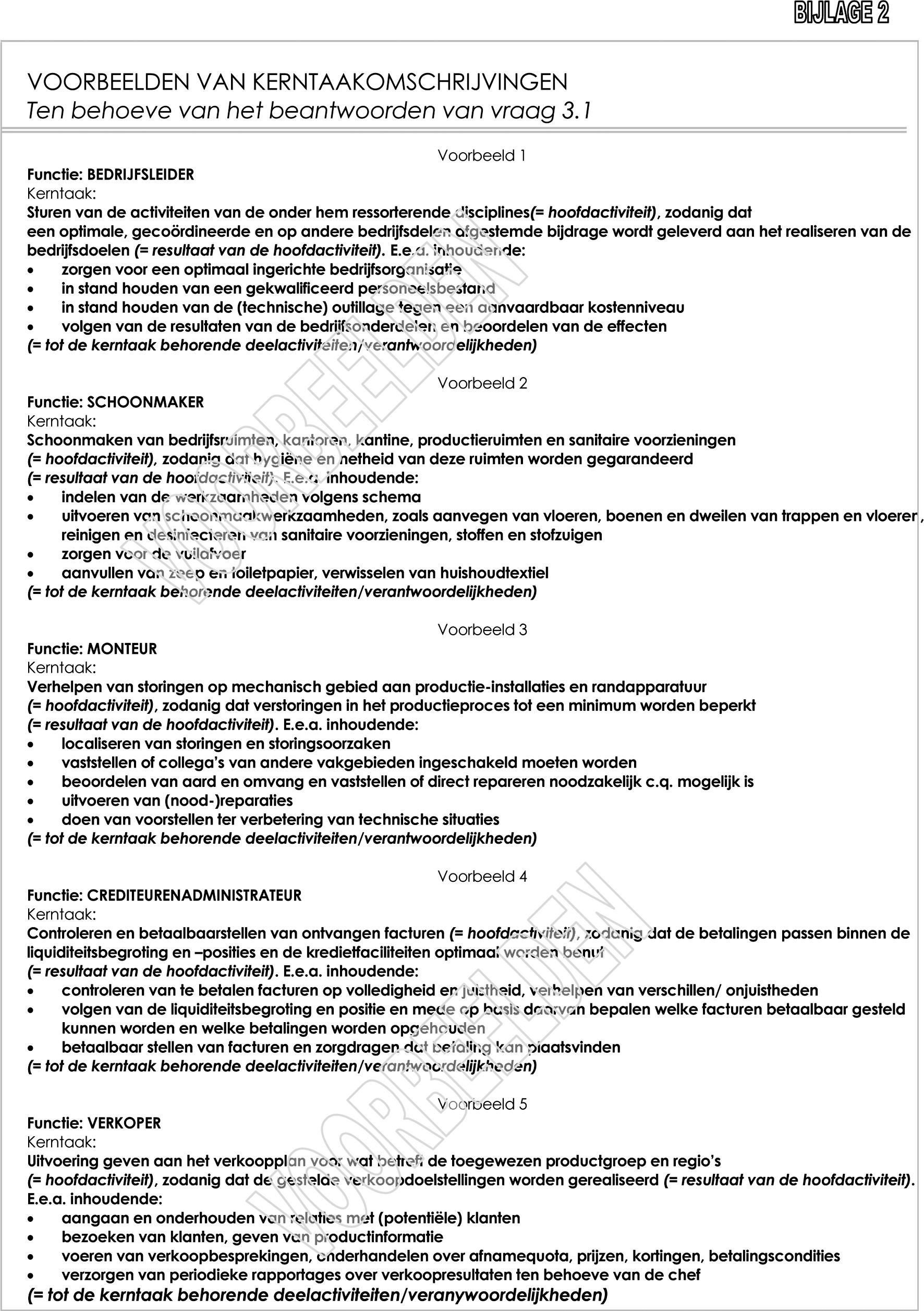wet poortwachter plan van aanpak voorbeeld Besluit van de Minister van Sociale Zaken en Werkgelegenheid van  wet poortwachter plan van aanpak voorbeeld
