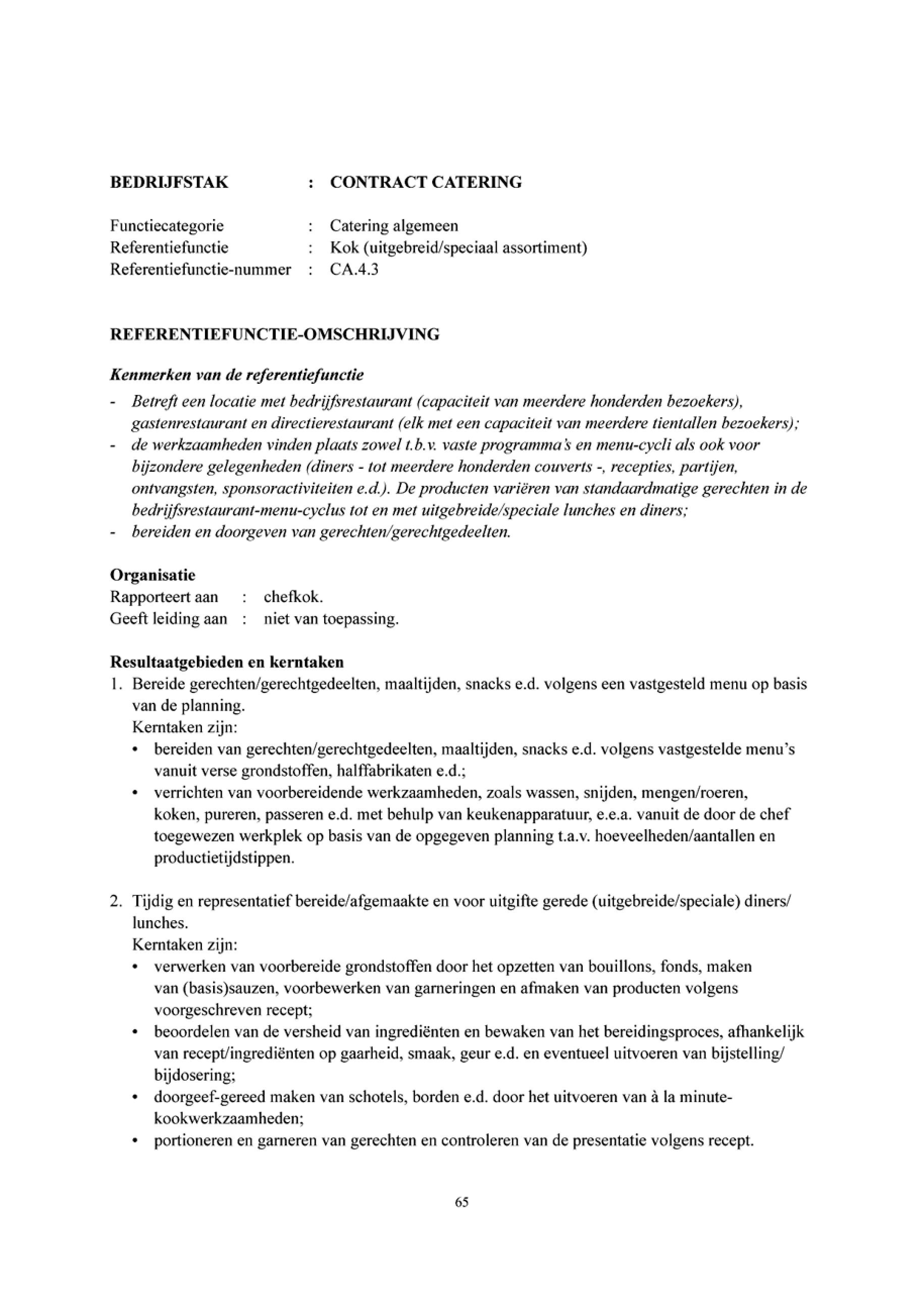 loonsverhoging vragen voorbeeldbrief Contractcateringbranche 2012/2017 loonsverhoging vragen voorbeeldbrief