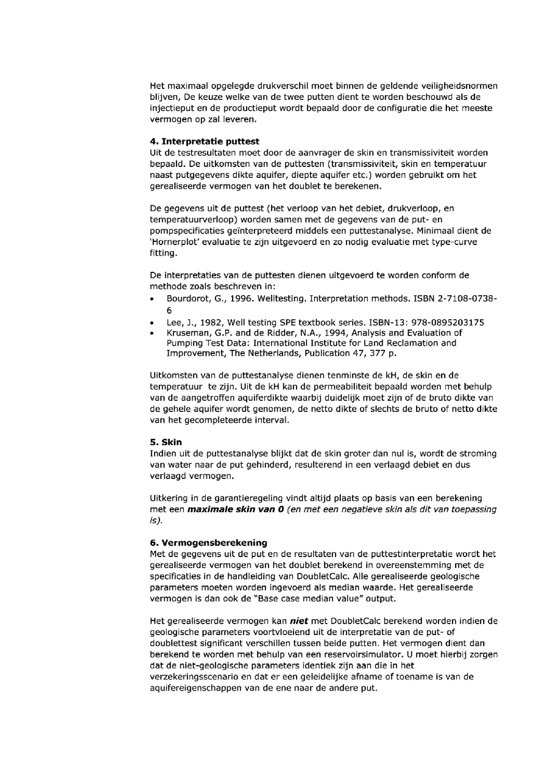 Regeling van de Minister van Economische Zaken van 11 juli 2014