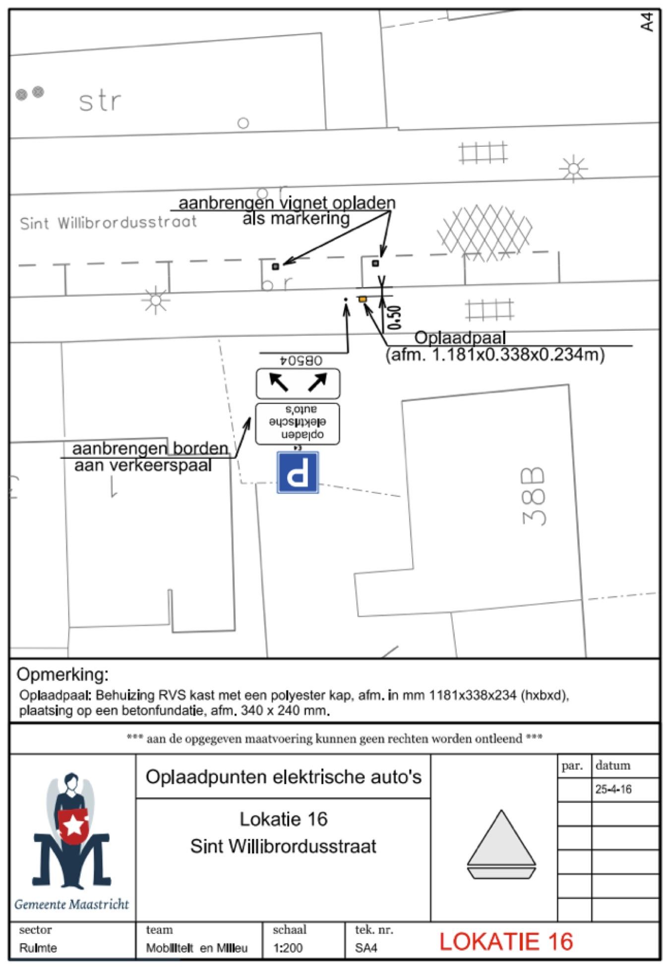 Gemeente Maastricht Verkeersbesluit Ten Aanzien Van Het Inrichten