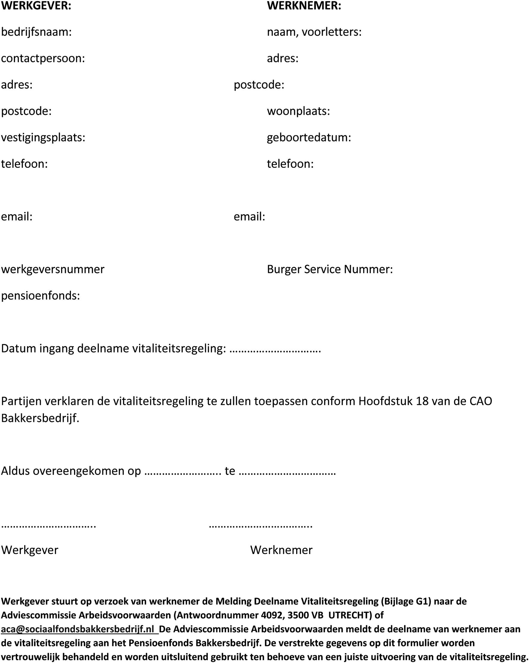 intentieverklaring bindend Intentieverklaring Werkgever Bindend | gantinova